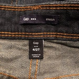 GAP Skirts - ❗️last GAP stretch denim high waisted mini skirt